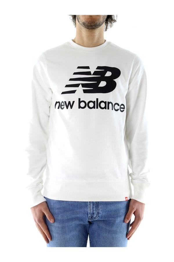 Felpe New Balance Uomo - White - Vendita Felpe On line su ...